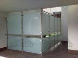 Ścianka szklana, balustrada